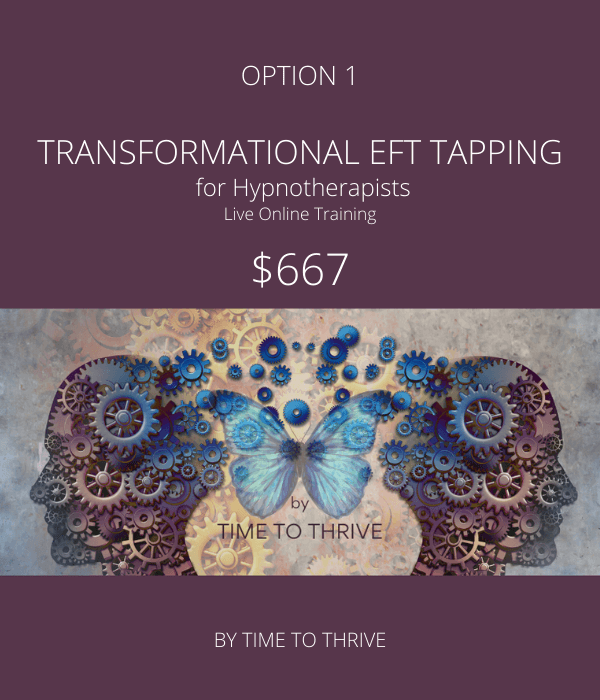 Time to Thrive - Transformational EFT Option 1