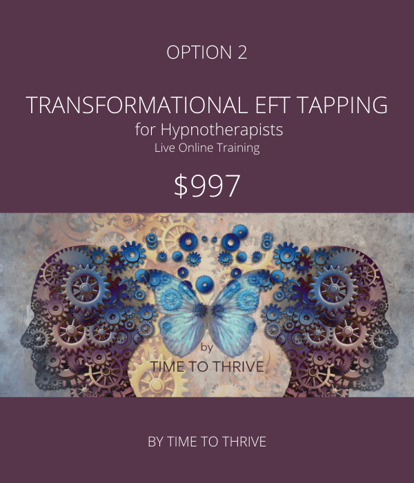 Time to Thrive - Transformational EFT Option 2